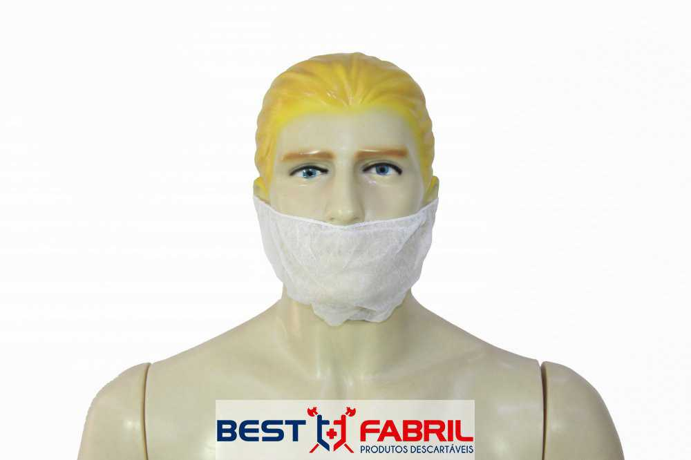 Protetor de Barba Descartável em (TNT)