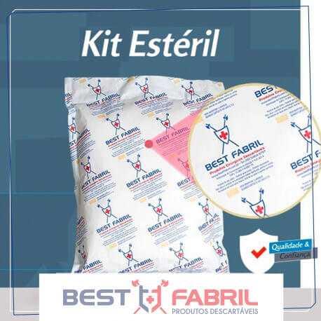 Kit Médico Pequena Cirurgia (TNT ou SMS-SSMMS)