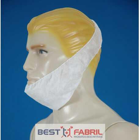 Protetor de Barba Descartável em TNT