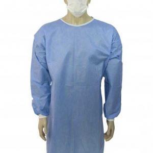 Avental cirurgico descartavel esteril